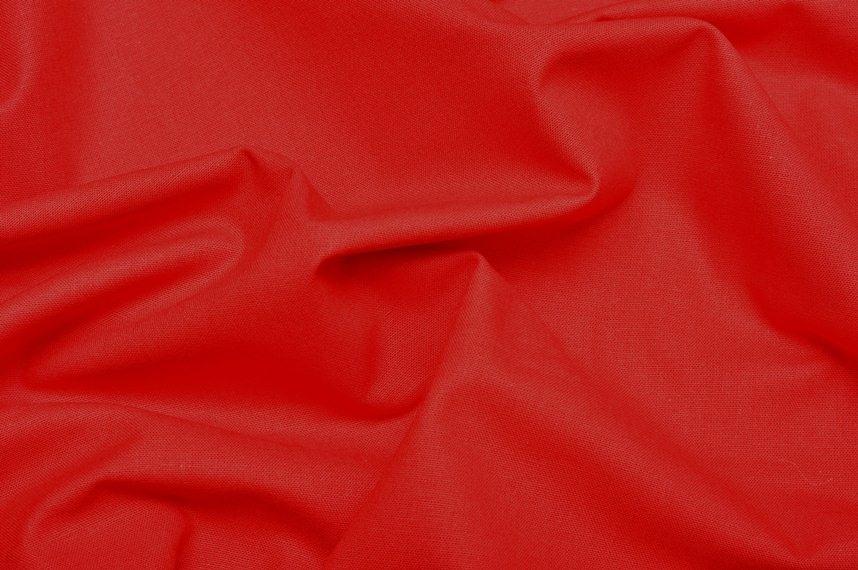 Bawełna gładka czerwony