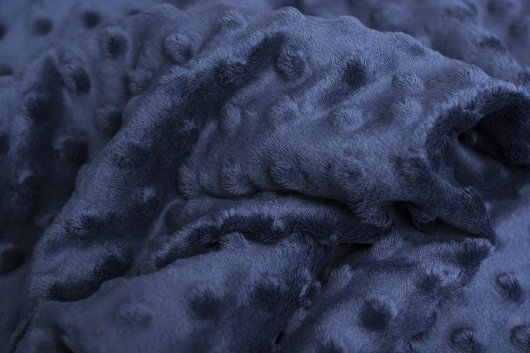 Minky Insignia blue granatowy