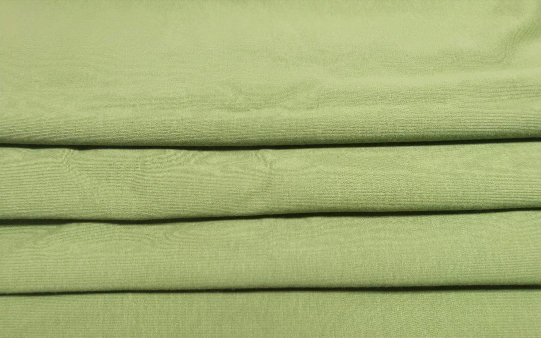 Dresówka gładka pętelka oliwkowa zieleń