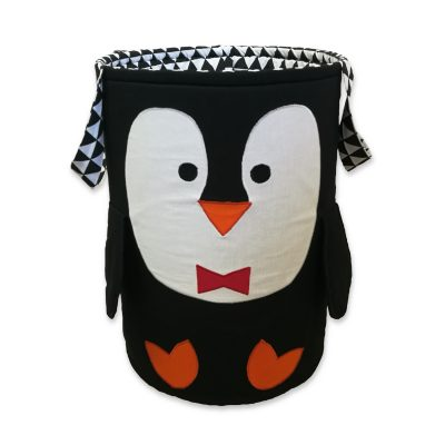 kosz na zabawki pingwin-Kuamka
