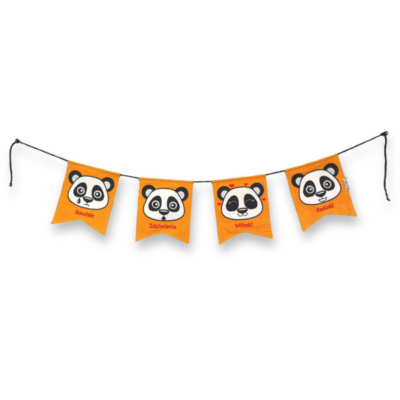 Emocjonalna Girlanda Panda- Kuamka