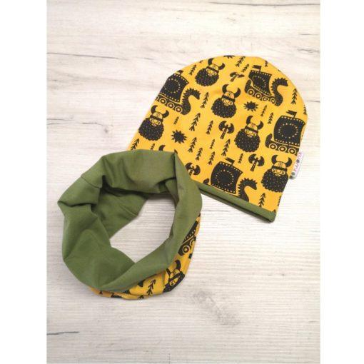 czapka z kominem Wikingi-Kuamka