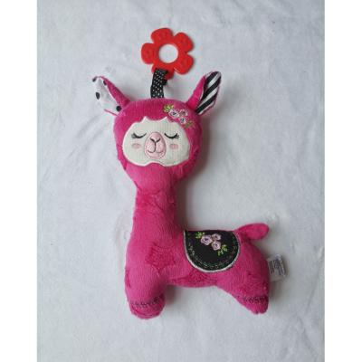 Zabawka sensoryczna lama różowa
