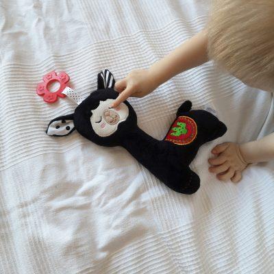 zabawka sensoryczna lama Kornelek