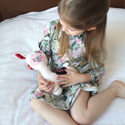 zabawka sensoryczna lama Kalinka