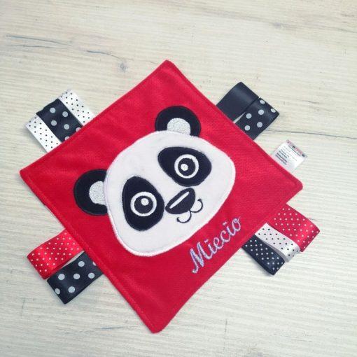 kontrastowy sensorek/ szmatka sensoryczna panda