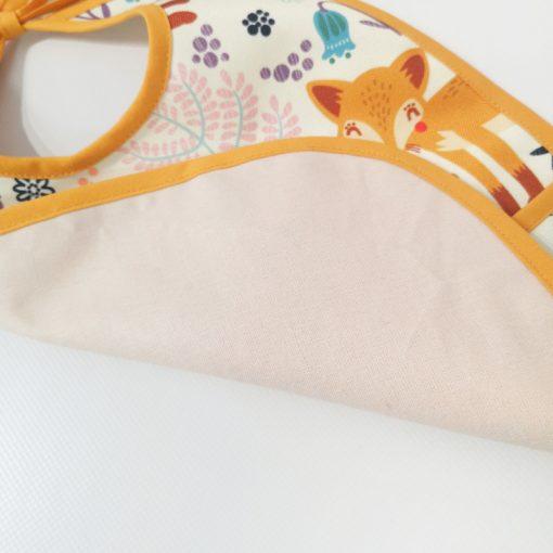 wodoodporny śliniaczek z kieszonką dla dziecka