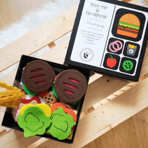 Hamburgery - Smacznie i kreatywnie