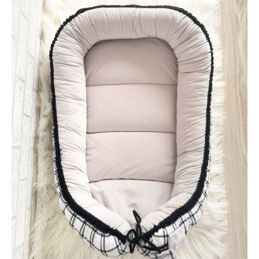 Kokon niemowlęcy Velvet Krata+ Nimbus Cloud