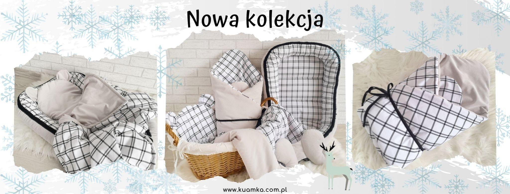 Krata - nowa kolekcja pościelowa dla dzieci i niemowląt - Kuamka