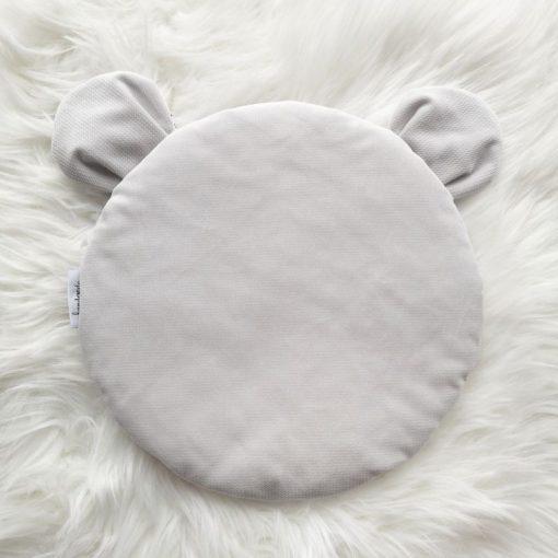Poduszka miś Velvet Krata + Nimbus Cloud