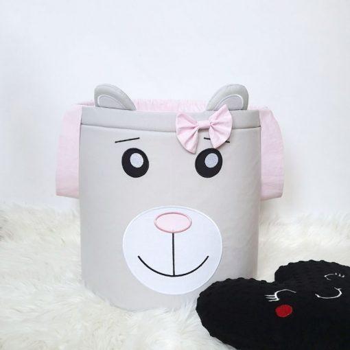 Kosz na zabawki Pani Miś mini - Kuamka